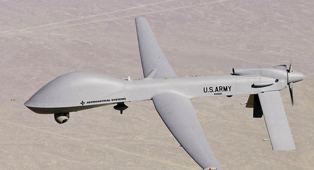خبرنگاران پرواز پهپادهای آمریکایی بر فراز آسمان جنوب بغداد
